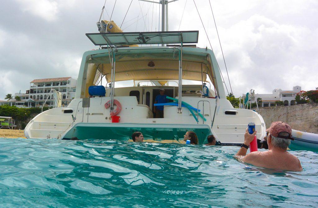 St Maarten Catamaran tours