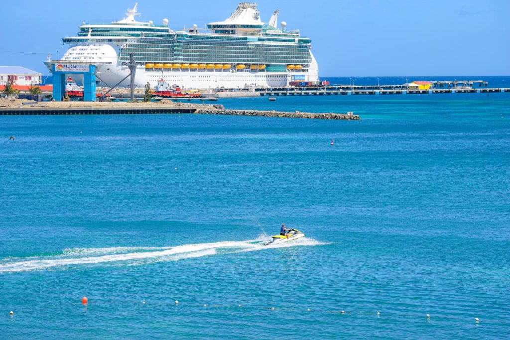St Maarten waverunner rental near cruise ship port