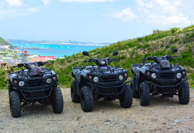 St Martin excursions ATV quad island tours