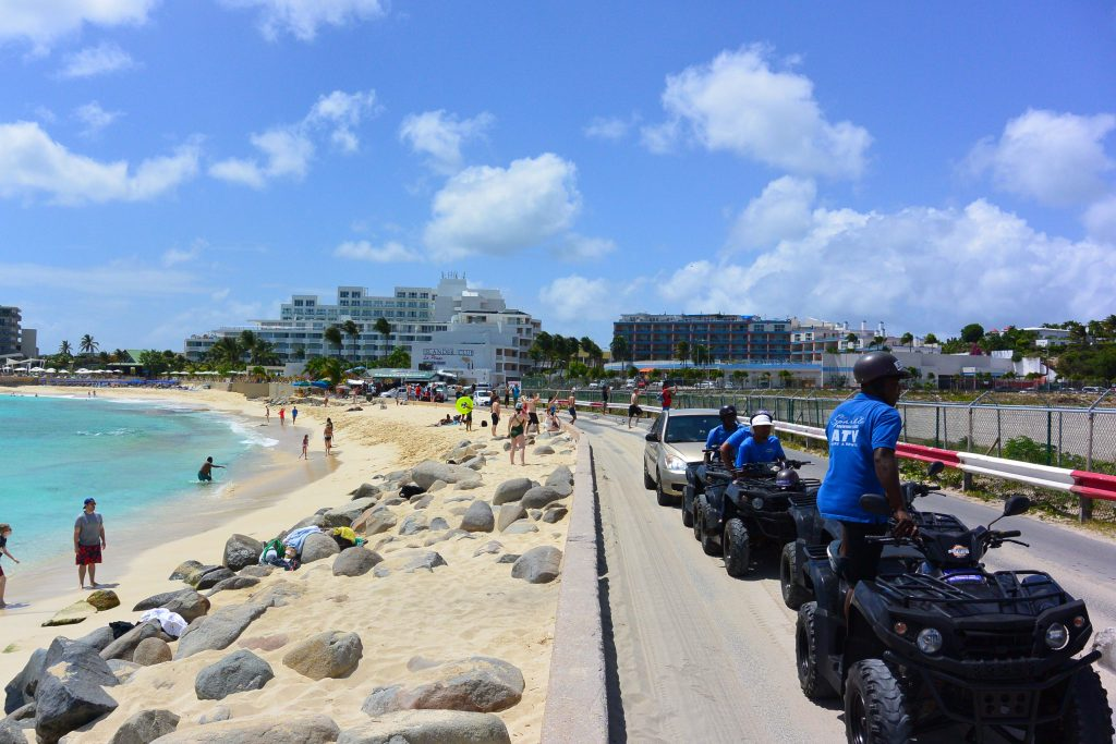Sunset beach planes St maarten ATV Tour