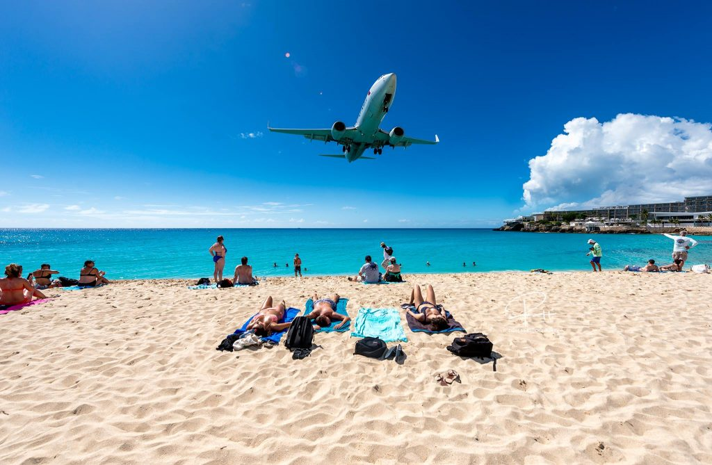 maho beach airplanes jeep tours in st maarten