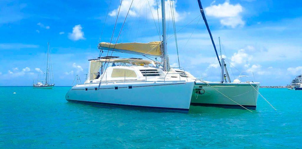 St Maarten Catamaran toursailing snorkeling and beaches