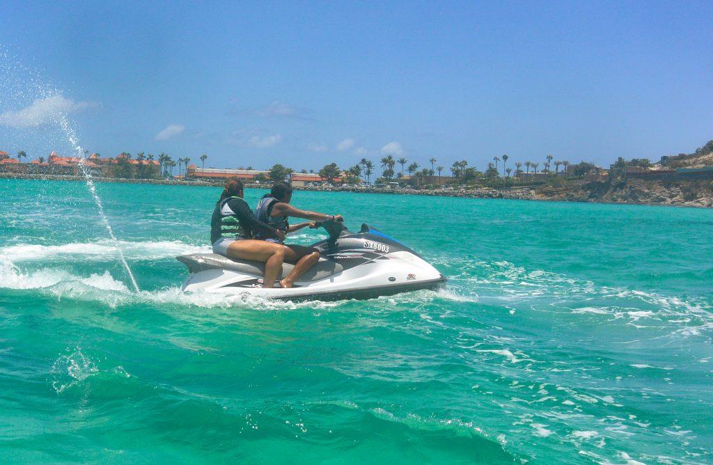 Wave Runner tours in St Maarten