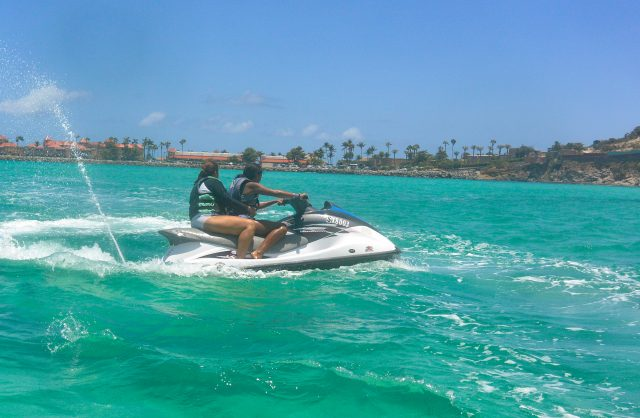 Wave Runner tours in St Maarten