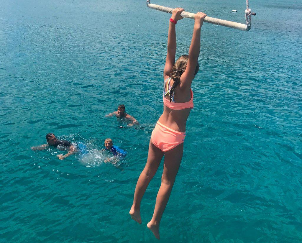 St Martin Catamaran Swing
