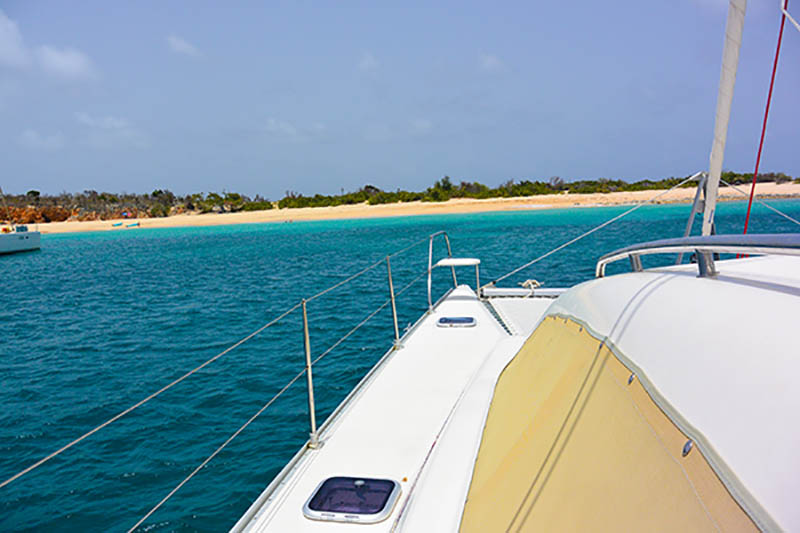 ST Maarten catamaran tour review
